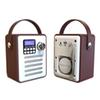 Dab Dab+ Tuner Digital Radio Receiver Bluetooth 5.0 Fm Broadcast Aux-In Mp3 Player Support Tf Card Built-In Battery