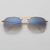 Gold / Blauer Gradient