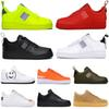 2019 New Designer Running Shoes dunk utility men women triple black white red Volt orange cut Skateboard shoe mens trainers sports sneakers
