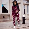 Women Champion Tracksuits Hoodies + Pants 2 Piece Sports Suit Spring Summer Casual Pullover Trousers Outfits Sportswear Sweatsuit best C3255