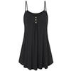 Plus Size Summer Tank Top Womens Tunic Button V Neck Tops Sleeveless Loose Casual Camis Ladies Clothes Women 2019 haut femme #F