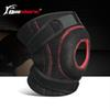 1 Pc Sports Fitness Knee Pads Spring Support Patella Guard Running Weightlifting Knee Brace Adjustable Wrap Straps Bandage
