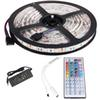 5m RGB LED strip light diode led ribbon tape waterproof Bluetooth WiFi 24Key control DC 12V Power Adapter Kit