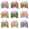 JOJO Siwa Hair Bows 13 Styles Fruits Printed Jojo Bows With Clip hair accessories for girls 8 inch Large Hair Bow SS122