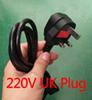 220V enchufe de Reino Unido
