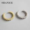 SHANICE 925 Sterling Silver Open Finger NS simple geometric bead beading Rings for Women Free Size Fashion Jewelry Adjustable