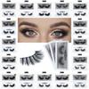 1Pair lot 3D Mink False Eyelash 100% Real Siberian Full Strip Fake Eyelash Long Individual Soft Natural Thick Eyelashes Mink Lashes Extensio