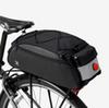 Bike Rear Bags black color multifunction Courier bags Cycling MTB bicycle bags with warning lights
