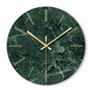 1PC Marble Wall Clock Simple Decorative Creative Nordic Modern Marble Clock Wall for Living Room Kitchen Office Bedroom