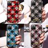 Brand Stripe Gridd Luxury Designer Rhinestone Phone Case 2in1 Scratchproof Defender Case For iPhone 11 Pro Xr X Xs Max 8 7 6Plus