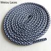# 24 Bianco-Blu scuro 140 cm