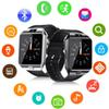 DZ09 Q18 GT08 Smart Watch Wristband Android Smartwatch SIM Intelligent Mobile Phone Record the Sleep State Watch With Retail Package DHL
