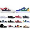 Cheaper New Van OFF THE WALL old skool FEAR OF GOD For mens womens canvas sneakers YACHT CLUB MARSHMALLOW fashion skate casual shoes