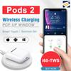 i30 i60TWS Pop Up Pods 2 Separate use Wireless charging Earphone Headset 6D Super Bass Bluetooth 5.0 Earphones PK i20 i10 i12 W1 Chip