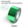Зеленый-ширина 5 см*120 метров