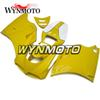 Full Fairings For Ducati 996 748 916 998 Monoposto Year 1996 1997 1998 1999 2000 2001 2002 ABS Plastic Injection Bodywork Gloss Yellow White