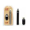 Law Preheating VV Battery 1100mah Vape Pen Blister Kits O Pen Bud Touch Variable Voltage Vape Battery With USB Charger