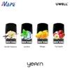 UWELL YEARN Pre-filled Pods Disposable Cartridges 1.5ml 1.4ohm Assorted Flavors 20mg 50mg For Yearn Pod System 100% Original