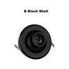B أسود قذيفة