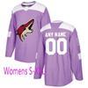 Женский фиолетовый S-XXL