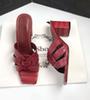 Tacones rojos 6.5cm