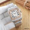 Diamante de oro rosa de plata