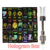 Newest Hologram box Dank Vapes Cartridge 510 Thread cart cartridges with newest black packaging window on the side Ceramic Coil Vape Carts