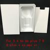 50Pcs High Quality US EU Version all Phone Packaging Packing Box Case For iPhone Without Accessories Empty Retail Boxes