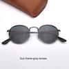 lentes de arma marco gris