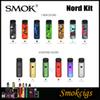 SMOK Nord Kit Resin Colors 1100mAh Pod System Kit with 3ML Capacity with Nord 1.4ohm Regular 0.6ohm Mesh Coil Excellent Design 100% Genius