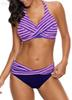 S 5Xl Bikini Set Plus Size Swimsuit Push Up Women Twist Swimming For Swimwear Ladies Beach Two Pieces Swim Suits