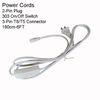 6FT 2 pinos nos cabos de alimentação com interruptor