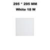 295 * 295 MM Beyaz 18 W