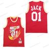 2019 Houston 01 Jack Jersey Travis Scott X BR X MN Black Red White Basketball Jerseys