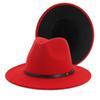 الأحمر الأسود 56-58cm