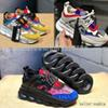 2019 hot Medusa Chain Reaction brand Designer Sneakers Sport Fashion running outdoor Shoes Trainer Lightweight Versace Sole