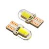 Car styling LED W5W T10 194 168 W5W COB 8SMD Led Parking Bulb Auto Wedge Clearance Lamp CANBUS Silica Bright White License Light Bulbs