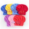 Shower Caps Magic Quick Dry Hair Shower Caps Microfiber Towel Drying Turban Wrap Hat Caps Spa Bathing