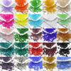 50pcs 6mm GLASS BEADS 20 COLOURS FOR JEWELLERY MAKING AND CRAFTS