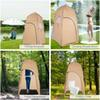 120 * 120 * 210cm Outdoor Shelter Camping Shower Bath Tent Beach Tent Fishing Shower Outdoor Camping Shower Tent