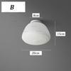 B: diámetro 20 cm * altura 15 cm