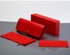 حالة أحمر + مربع + قطعة قماش + الحقيبة