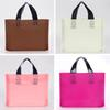 45x35cm Plastic Frosted Bags with Handles with Bottom Gusset Multicolor Thick Frosted Plastic Gift Bags Retail Clothing Shopping Bags 50Pcs