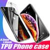 For New IPhone XR XS MAX 8 Plus TPU Case Clear 0.3MM for Samsung Galaxy S10 Plus S9 Note 9 Soft Cover