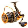 Gapless Spinning Fishing Reel 14BB CNC Metal Rocker Saltwater Gear 4.6:1 Molinete Pesca Distant Wheel Sea Fishing Reel