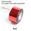 vermelho-3 centímetros de largura * 120 metros