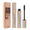 QIC Starry Sky 4d waterproof Mascara Ultra Lengthening Volume Maskara Trendy Long Lasting Not Blooming Big Eyes Makeup