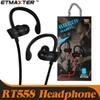 Cost Effective Headphones RT558 Sweatproof Sport Earbuds Wireless Bluetooth Earphones for iPhone X Xs Max 7 8 Samsung Galaxy note 9