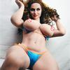 163cm Lifelike Real Silicone Adult Sex Doll Chubby Women Big Ass Breast American European Love Dolls