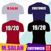 New 2019 2020 SALAH FIRMINO Mens Soccer Jerseys Kit LALLANA 18 19 20 Champions League Home Red M.SALAH MANE STURRIDGE Football Shirts
